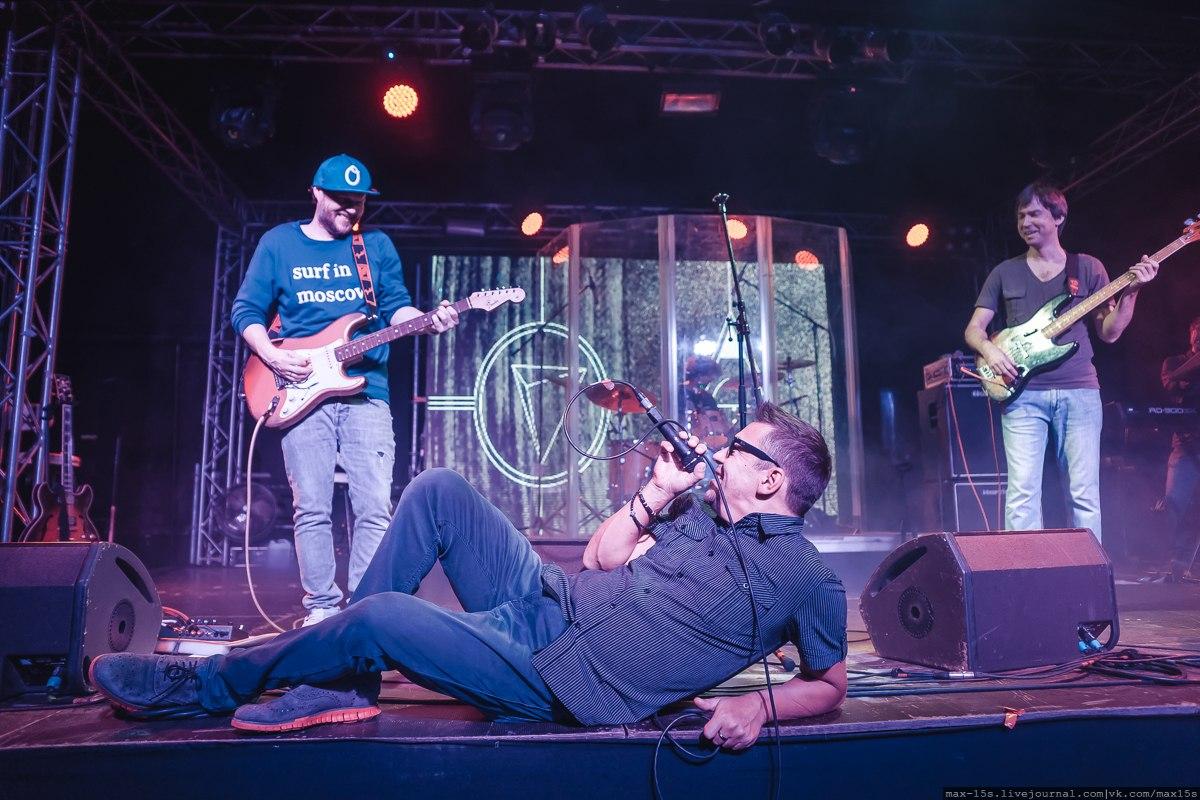 """Концерт в клубе """"Volta""""."""