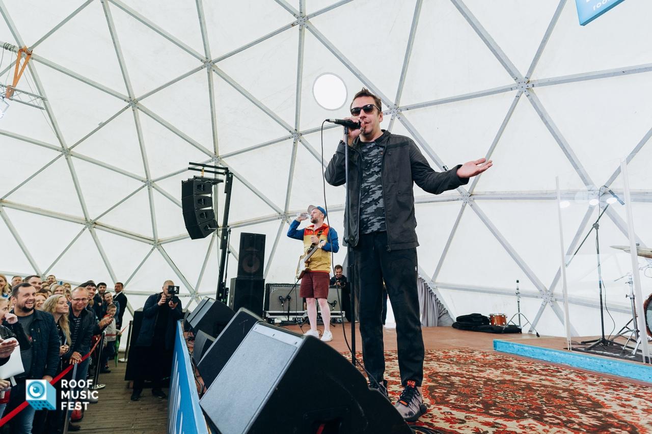 """""""Танцы Минус"""" на  Roof Music Fest."""