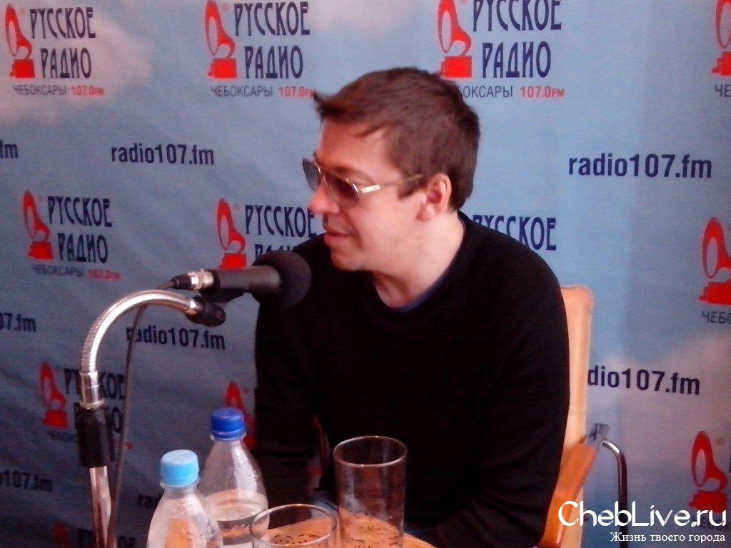 """Танцы Минус "" на ""Русском Радио"" (Чебоксары)."